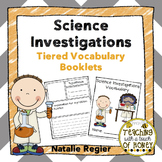 Science Investigation - Differentiated Vocabulary Templates