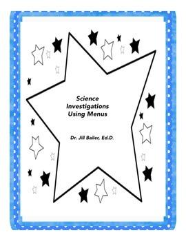 Science Investigations Using Menus
