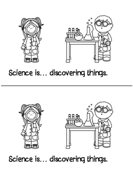 Science Is... (An Emergent Reader to Explain Science to Young Students)