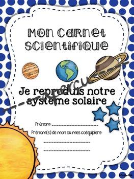 Science - Je reproduis notre système solaire