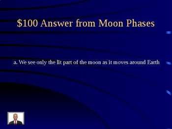 Science Jeopardy Review