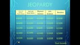 Science Jeopardy Review - FCAT Review
