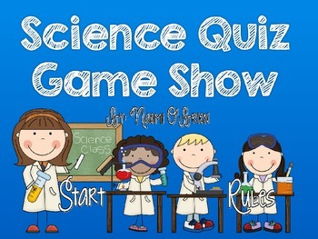 Science Jeopardy-Style Game Show
