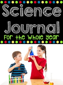 Science Notebook - Science Experiments for the YEAR - Back to School Activities