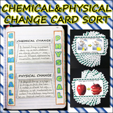 Science Journal: Chemical and Physical Change Card Sort