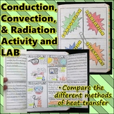 Science Journal: Conduction, Convection, and Radiation Jou