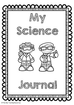 Science Journal Covers Worksheets & Teaching Resources | TpT