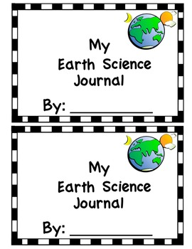 Science Journal Covers (Physical, Life, Earth)