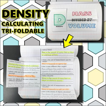 Science Journal: Density Calculating Tri-Foldable