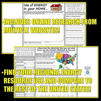 Science Journal: Energy Resource Research Activity 2.0