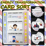 Science Journal: Energy Transformation Card Sort