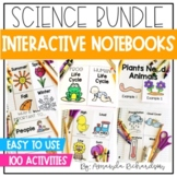 Science Interactive Notebook for First Grade BUNDLE