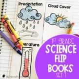 Interactive Science Notebook: Weather, Properties of Matter, Temperature