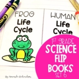 Science Interactive Notebook for First Grade: Part 6