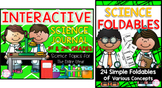 Interactive Science Journal & Foldable Bundle {1st/2nd} TEKS & CCSS Aligned
