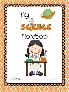 Science Notebook Label