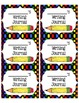 Journal Labels (Science, Writing, Math, Spelling, Reading, Daily Labels)