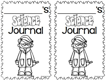 Science Journal Labels FREEBIE