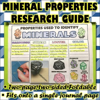 Science Journal: Mineral Properties Research Guide
