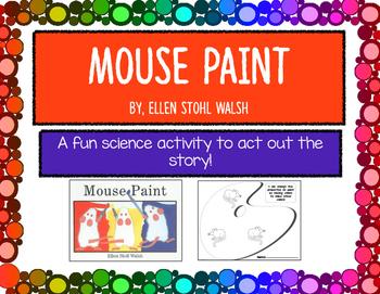 """Mouse Paint"" Science activity"