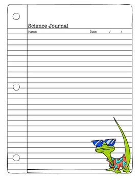 Science Journal Page