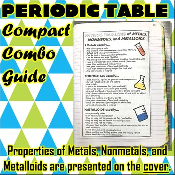 Science Journal Periodic Table Compact Combo Guide By Travis Terry