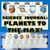 Science Journal: Planets to the Max Foldable