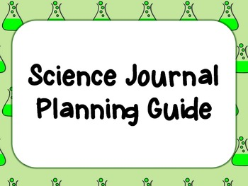 Science Journal Planning Guide