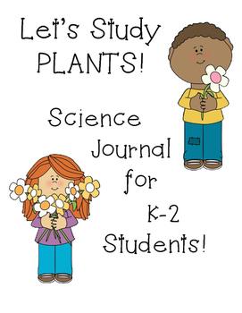 Science Journal Plants - Marigolds- Beans