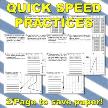 Science Journal: Quick Speed Practices