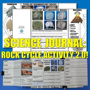 Science Journal: Rock Cycle Activity 2.0