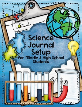 Science Journal Set Up for Middle & High School