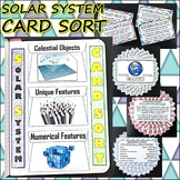 Science Journal: Solar System Card Sort