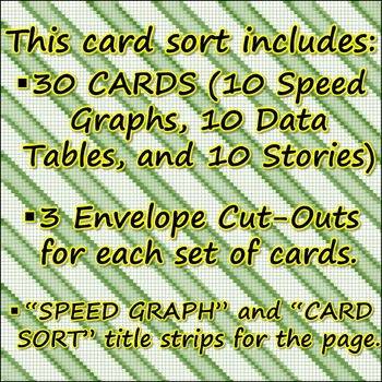 Science Journal: Speed Graph Card Sort