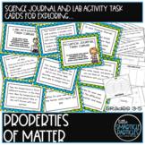 States of Matter Science Journal Task Cards