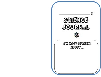 Science Journal-observations, definitions, senses, visualizations