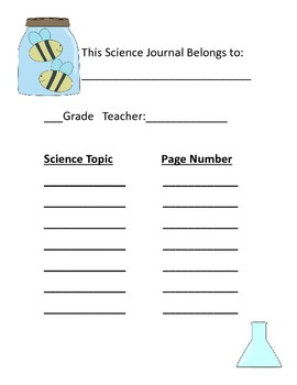 Science Journaling Packet
