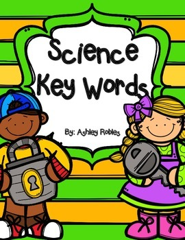 Science Key Words