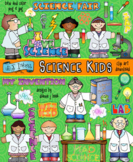 Science Kids Clip Art Download