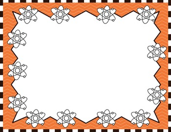 Science Kids Clipart: Borders & Frames - Set #2 by Science ...