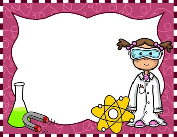 Science Kids Clipart: Borde... by Science Demo Guy ...