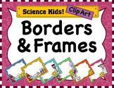 Science Kids Clipart: Borders & Frames - Set #1