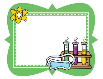 Science Kids Clipart: Borders & Frames - Set #3 by Science ...