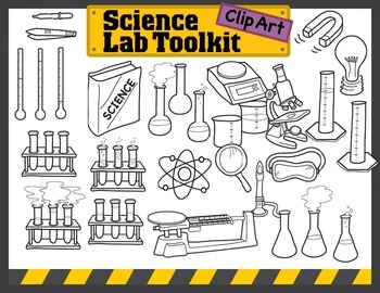 Science Kids Clipart: Science Lab Toolkit