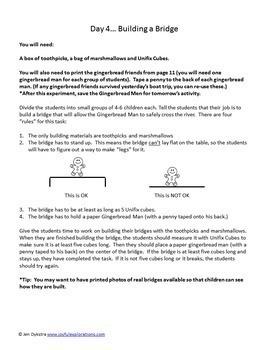 Science Kids... Unit 8 Gingerbread Man Science