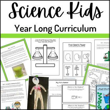Science Kids- Year Long Science Curriculum