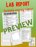 Science LAB report using Scientific Method