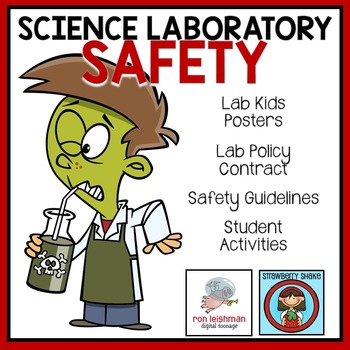 lab safety science laboratory activity guidelines posters engaging chemistry classroom fun student activities teacherspayteachers biology teachers students room teaching cool