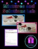 Science Lab Activity - Solutions Lab