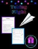 Science Lab Activity - Taking Flight